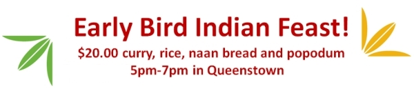 Early Bird Indian Feast
